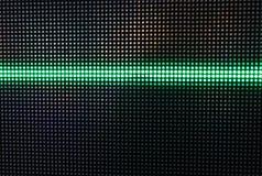 Het groene Glanzen Dots Background, Netwerkconcept Royalty-vrije Stock Afbeelding