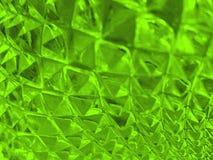 Het groene glas van Sharped royalty-vrije stock afbeeldingen