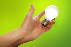 Het groene Idee Stock Foto's