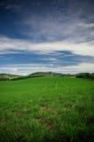 Het groene land van het Landbouwbedrijf royalty-vrije stock foto