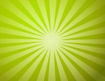 Het groene Licht van de Zon Stock Afbeeldingen