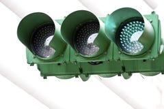 Het groene licht van het verkeer Royalty-vrije Stock Fotografie