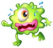 Het groene monster ontsnappen Stock Foto's