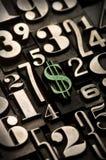 Het Groene Teken van de dollar, Royalty-vrije Stock Afbeeldingen