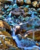 Het groene water van Italië stock afbeelding