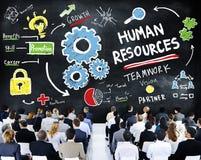 Het Groepswerk van de bedrijfs personeelswerkgelegenheid Seminarieconferentie Stock Afbeelding