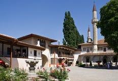Het grondgebied van Khan Palace Stock Afbeeldingen