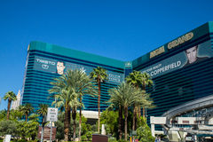 Het Groot Hotel en Casino Las Vegas Nevada van MGM Stock Foto