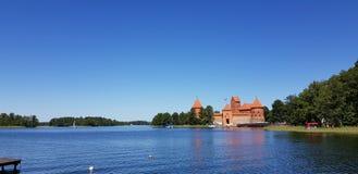 Het grootste kasteel in Litouwen Stock Afbeeldingen