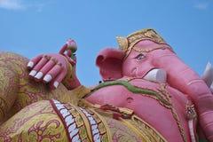 Het grootste roze van Ganesh Royalty-vrije Stock Foto