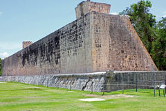 Het Grote Balhof in Chichen Itza, Yucatan, Mexico Royalty-vrije Stock Afbeelding