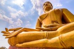 Het grote Bhuda-standbeeld in Thailand Stock Afbeeldingen