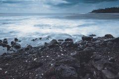 Het Grote Eiland de V.S., magische scenics van Hawaï van stranden, sunsets, vulkanen, rotsen, fijne kunstfotografie royalty-vrije stock foto
