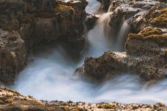 Het Grote Eiland de V.S., magische scenics van Hawaï van stranden, sunsets, vulkanen, rotsen, fijne kunstfotografie royalty-vrije stock fotografie