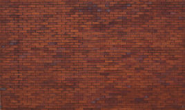 Grote bakstenen muur Stock Foto
