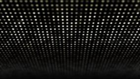 Het grote geleide lamppaneel glanst met 3D golfeffect stock footage