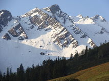 Het grote Himalayagebergte Stock Foto