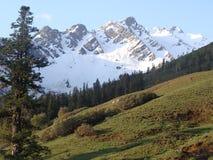 Het grote Himalayagebergte Stock Foto's