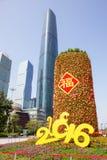 Het grote hoogtepunt van de mandarijnboom van rood pakket 4 Stock Fotografie