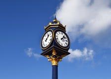 Het grote horloge in Birmingham Stock Fotografie