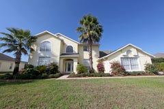 Het grote Huis van Florida Royalty-vrije Stock Afbeeldingen