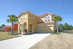 Het grote Huis van Florida Royalty-vrije Stock Afbeelding