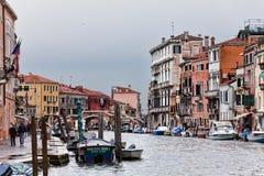 Het Grote Kanaal van Venetië Stock Fotografie
