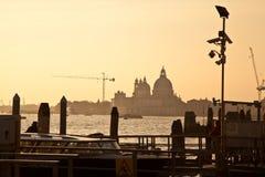 Het Grote Kanaal van Venetië Stock Foto