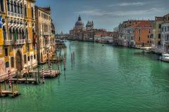 Het grote kanaal van Venetië Royalty-vrije Stock Foto