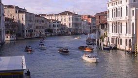 Het Grote Kanaal van Venetië stock video