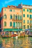 Het grote Kanaal in Venetië stock foto's
