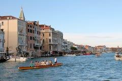 Het grote Kanaal in Venetië Italië stock fotografie