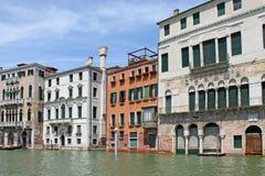 Het grote Kanaal in Venetië Italië royalty-vrije stock fotografie