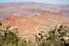 Het grote Landschap van de Canion Stock Afbeelding