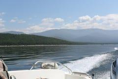 Het grote meer Baikal, Rusland Royalty-vrije Stock Afbeeldingen