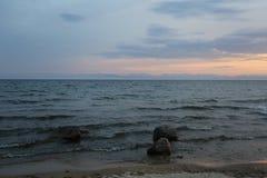 Het grote meer Baikal, Rusland Royalty-vrije Stock Fotografie