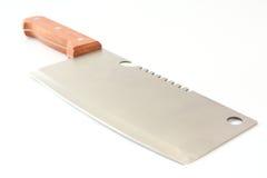 Het grote mes van de nutskeuken. Stock Foto's