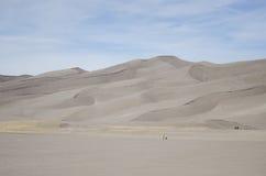 Het grote Nationale Park en het Domein van de Duinen van het Zand Royalty-vrije Stock Foto's
