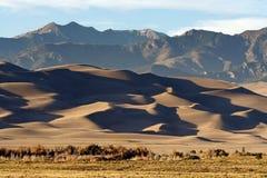 Het grote Nationale Park van de Duinen van het Zand Royalty-vrije Stock Foto