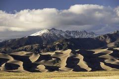Het grote Nationale Park van Zandduinen Stock Foto's