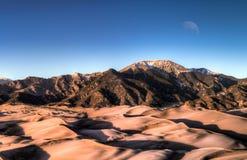 Het grote Nationale Park van Zandduinen in Colorado royalty-vrije stock afbeeldingen