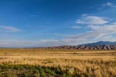 Het grote Nationale Park van Zandduinen in Colorado Stock Foto