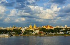 Het Grote Paleis, Bangkok, Thailand Stock Foto's