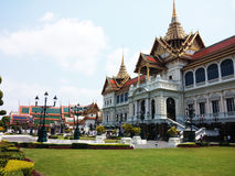 Het grote Paleis, Bangkok, Thailand Stock Foto