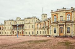 Het Grote Paleis in Gatchina Stock Afbeelding