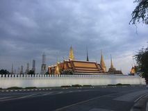 Het Grote paleis van Bangkok Royalty-vrije Stock Fotografie