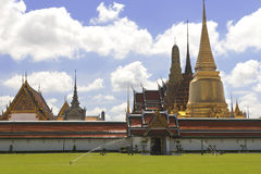 Het Grote Paleis van Bangkok in Thailand Royalty-vrije Stock Fotografie