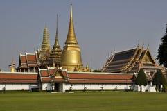 Het Grote Paleis van Bangkok - Wat Phra Kaew Royalty-vrije Stock Afbeeldingen