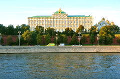 Het grote Paleis van het Kremlin moskou Rusland Stock Afbeeldingen