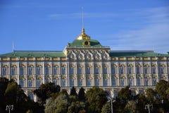 Het grote Paleis van het Kremlin van Moskou het Kremlin De Plaats van de Erfenis van de Wereld van Unesco royalty-vrije stock afbeelding